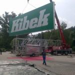 Preise für Werbeturm Werbemast Schleuderbeton Bau Montage W12