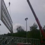 Preise für Werbeturm Werbemast Schleuderbeton Bau Montage W13
