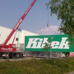 Preise für Werbeturm Werbemast Schleuderbeton Bau Montage W27