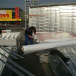 Preise für Werbeturm Werbemast Schleuderbeton Bau Montage W48