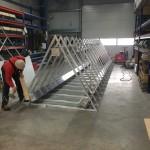 Preise für Werbeturm Werbemast Schleuderbeton Bau Montage W70