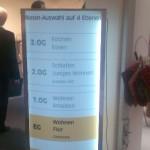 Preise für ovale gebogene Pylone Preisübersicht Werbepylone P52