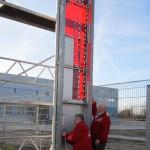 Preise für Pylone Plylonbau oval gewölbt Aluminium Stahlbau P20
