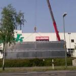 Preise für Werbeturm Werbemast Schleuderbeton Bau Montage W23