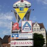 Preise für Werbeturm Werbemast Schleuderbeton Bau Montage W25