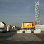 Preise für Werbeturm Werbemast Schleuderbeton Bau Montage W47