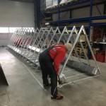 Preise für Werbeturm Werbemast Schleuderbeton Bau Montage W71