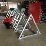 Preise für Pylone Plylonbau oval gewölbt Aluminium Stahlbau P42