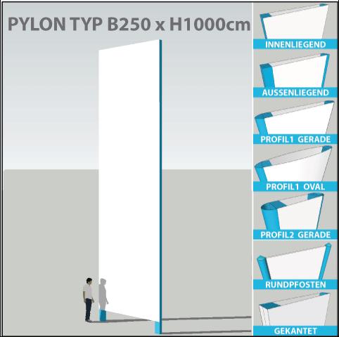 pylon-pylone24-profi-250x1000
