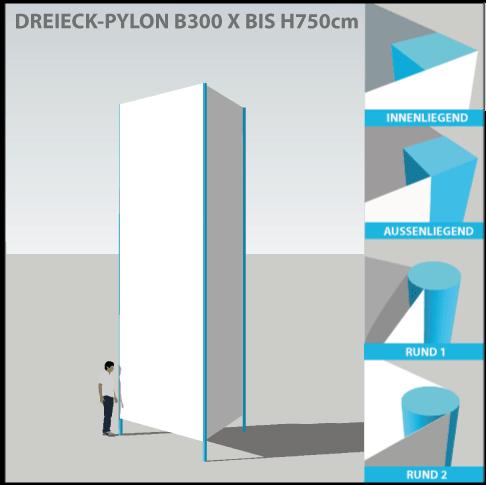 pylon-pylone24-profi-dreieckpylon-300x750