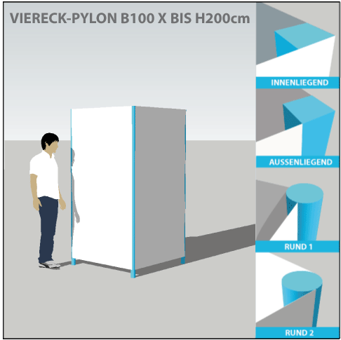 pylon-pylone24-profi-viereckpylone-100x200