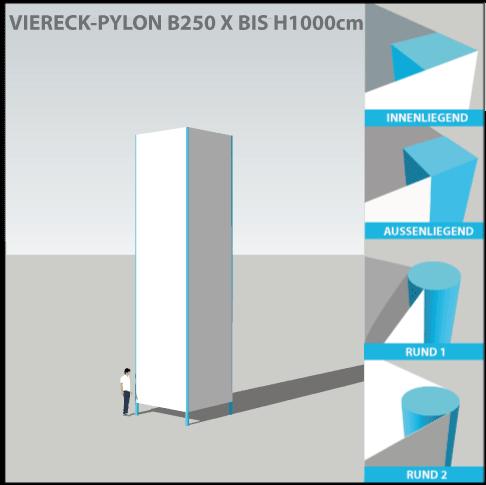pylon-pylone24-profi-viereckpylone-250x1000