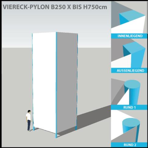 pylon-pylone24-profi-viereckpylone-250x750