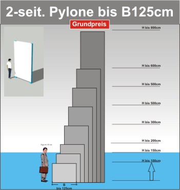 Pylone B125cm
