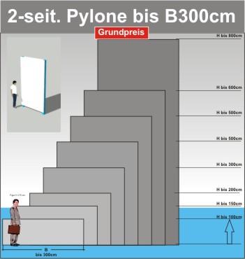 Pylone B300cm