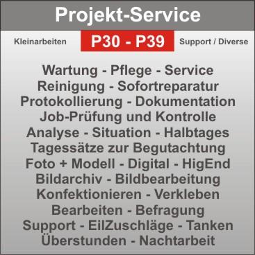 Projekt-Details - Montagegeräte - Krane - Hubsteiger - Fahrzeuge - Kleinmaterial